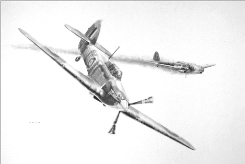 Aviation art, Hurricane