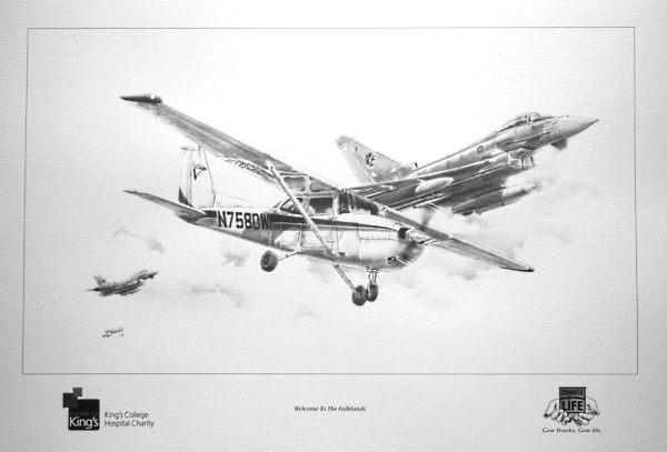 aviation art Cessna