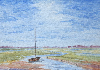 watercolour painting, Solway